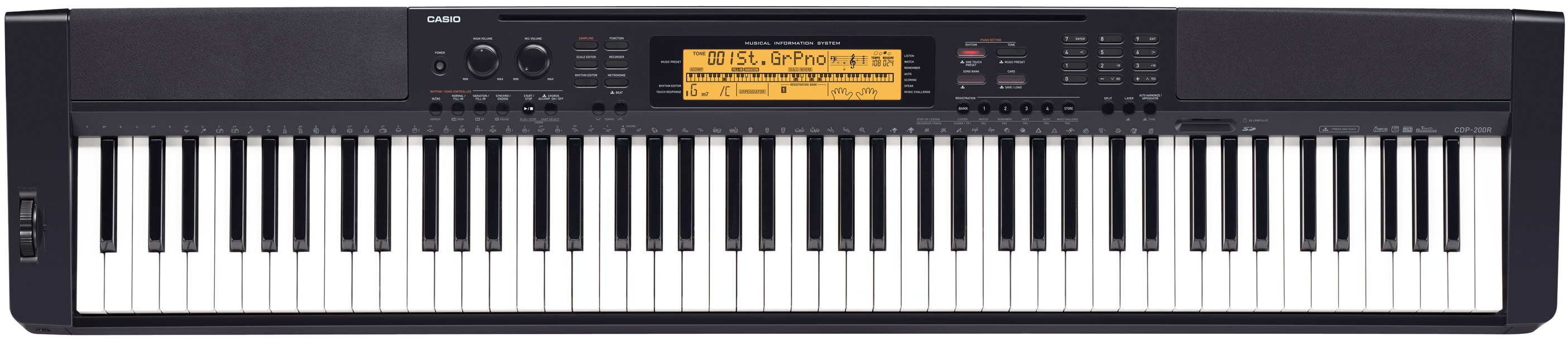how to learn casio keyboard at home pdf