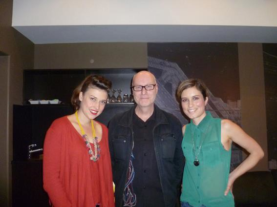 AM editor Greg Phillips, Lanie and Missy