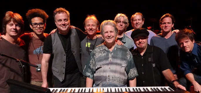 Brian Wilson Band Smile Tour Backstage Exclusive