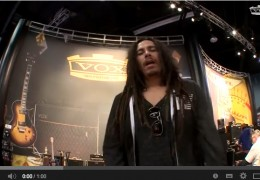 James 'Munky' Shaffer from Korn talks Vox AC30