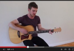 JAKE TURNER (THE ELLIOTS) talks about his Cole Clark FL2