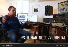 ORBITAL'S PAUL HARTNELL ON THE NOVATION BASS STATION II