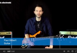 PAUL GILBERT DEMOS TC Ditto X2