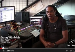 DOUG WIMBISH (Living Colour) Talks BEHRINGER X32