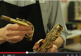 HOW TO ASSEMBLE YOUR SAX