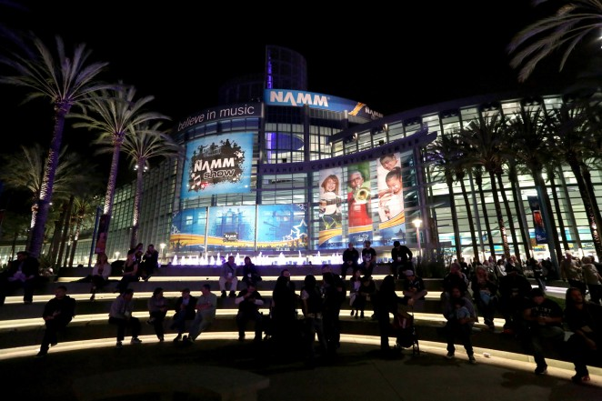 A general view of atmosphere at the 2015 National Association of Music Merchants show at the Anaheim Convention Center on January 22, 2015 in Anaheim, California.  (Photo by Jesse Grant/Getty Images for NAMM)