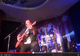 NAMM 2015: LLOYD SPIEGEL PERFORMS FOR COLE CLARK