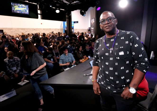 Bassist Randy Jackson attends the 2015 National Association of Music Merchants show at the Anaheim Convention Center on January 24, 2015 in Anaheim, California.  (Photo by Jesse Grant/Getty Images for NAMM)