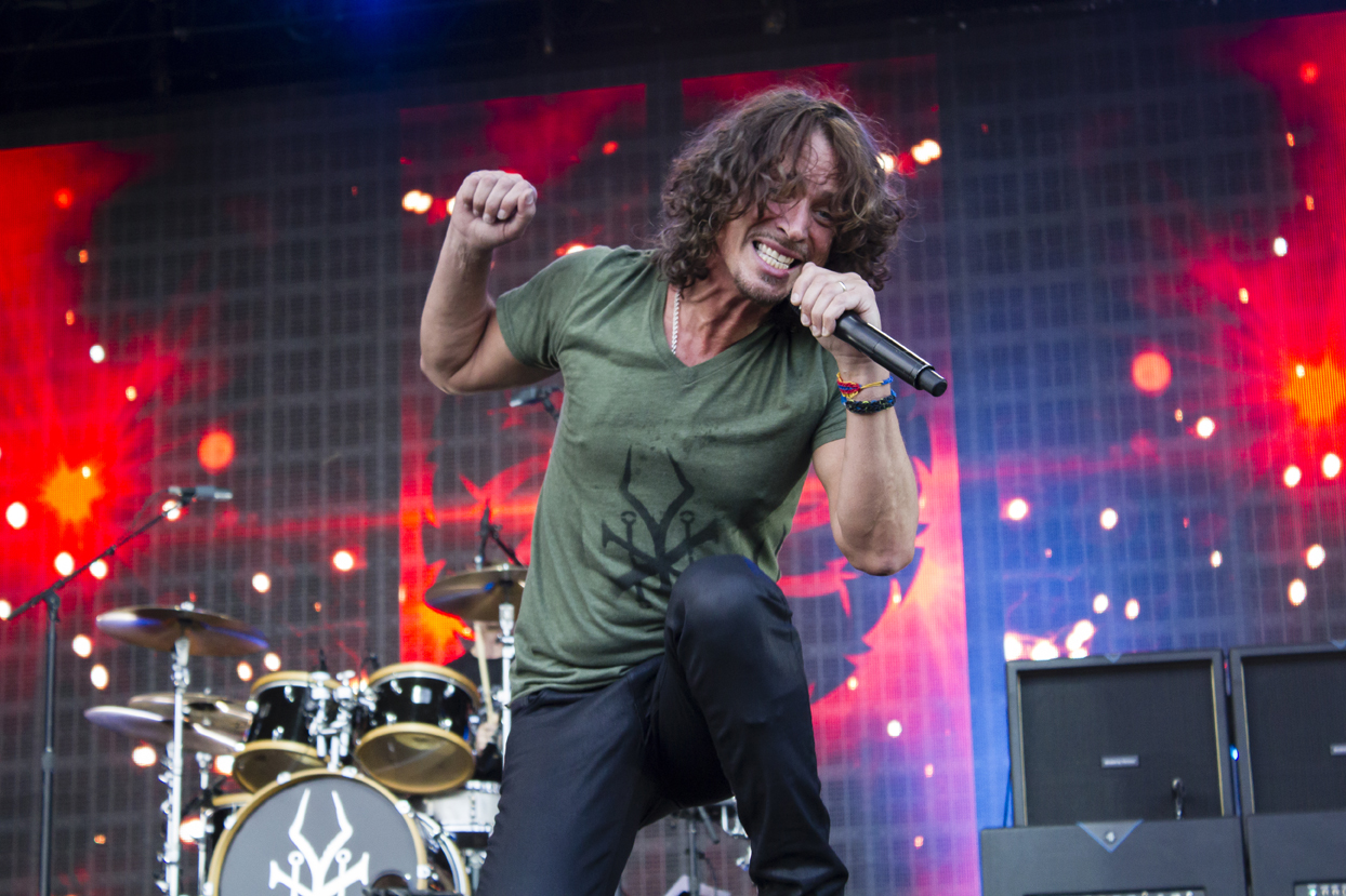 Soundgarden's Chris Cornell by James Phillips
