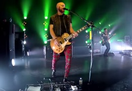 THE SCRIPT'S MARK SHEEHAN & GIBSON G FORCE