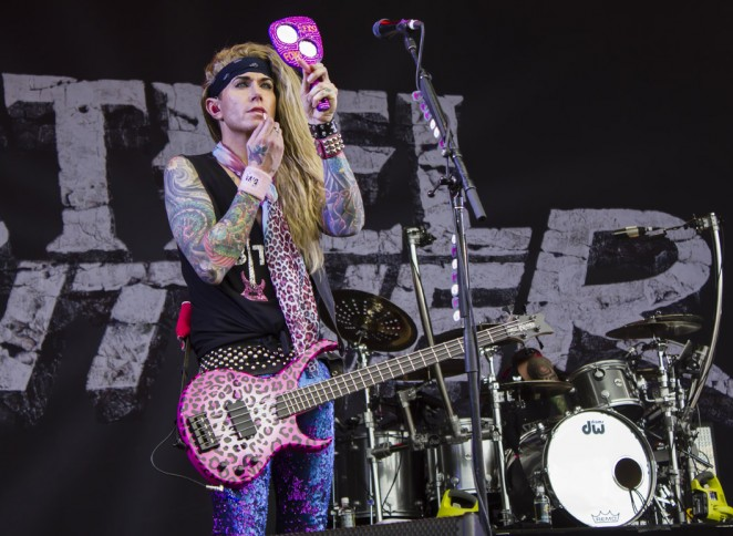 Steel Panther. pic by James Phillips