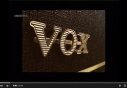 BBC DOCO ON VOX AMPS