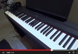 NAMM 2015: YAMAHA P-115 DIGITAL PIANO