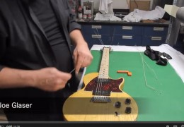 Setting up a Gibson USA Music City Jr. with B-Bender