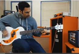 JOE PRINCIPE (RISE AGAINST) & ORANGE OB1-500 Bass Amp