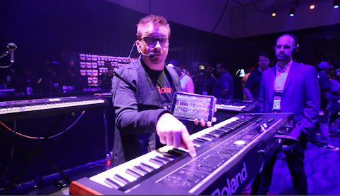 NAMM 2018: ROLAND VR730 ORGAN/PIANO/SYNTH