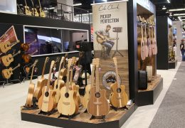 NAMM Show 2019: COLE CLARK GUITARS JOINS KORG USA