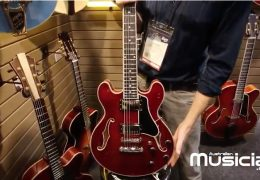 NAMM 2019: EASTMAN T484 ELECTRIC