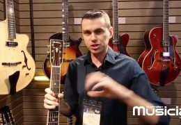 NAMM: EASTMAN DOUBLE TOP SERIES