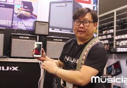 NAMM 2019: NU-X Mighty BT Modeling amp and Bumblebee Pedalboard