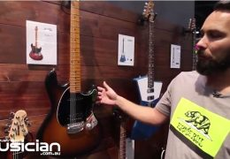 NAMM Show 2019: Dustin Kensrue (Thrice) Stingray Guitar