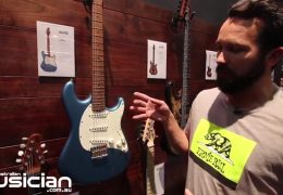 NAMM Show 2019: Ernie Ball Music Man Hunter Hayes Cutlass electric