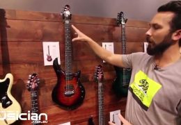 NAMM Show 2019: Ernie Ball Music Man 'Tiger Eye' Majesty Electric