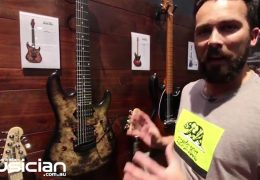 NAMM Show 2019: Ernie Ball Music Man Jason Richardson 7 String Cutlass