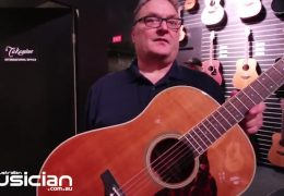 NAMM Show 2019: TAKAMINE CRN-TS1 Slope-Shoulder Dreadnought