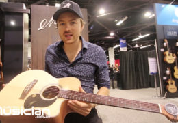 NAMM 2020: JOE ROBINSON ON HIS MATON JR SIGNATURE GUITAR