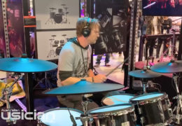 NAMM 2020: ROLAND VAD-506 ACOUSTIC DESIGN DRUM KIT BOOTH DEMO