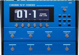 NAMM 2020: BOSS SY-1000 GUITAR SYNTH