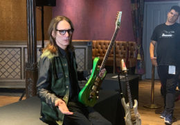 NAMM 2020: STEVE VAI PRESENTS HIS NEW IBANEZ 'PIA'