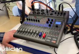 NAMM 2020: ZOOM LIVE TRAK L8 DIGITAL MIXER RECORDER